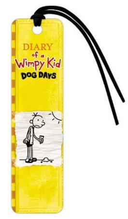 Diary of a Wimpy Kid Yellow Dog Days Bookmark
