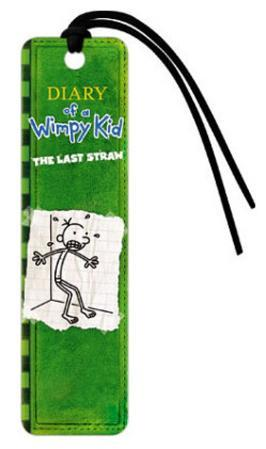 Diary of a Wimpy Kid Last Straw Green Bookmark