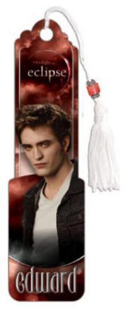 Twilight Eclipse Movie (Edward) Beaded Bookmark