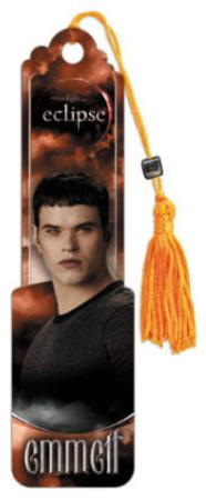 Twilight Eclipse Movie (Emmett) Beaded Bookmark