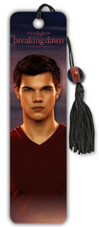 The Twilight Saga Breaking Dawn Movie Jacob Beaded Bookmark