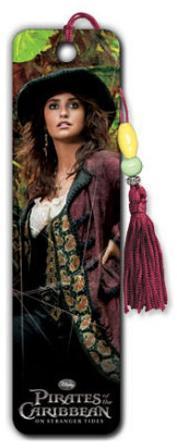 Pirates of the Caribbean: On Stranger Tides Movie Angelica Penelope Cruz Beaded Bookmark