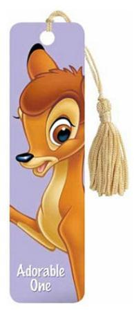Bambi Movie Aodrable One Tasseled Bookmark