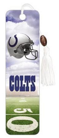 Indianapolis Colts Helmet Beaded Bookmark