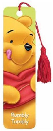 Winnie the Pooh Movie Pooh Tasseled Bookmark