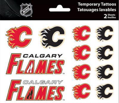 Calgary Flames Temporary Tattoos