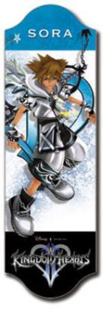 Kingdom Hearts Sora Video Game Bookmark