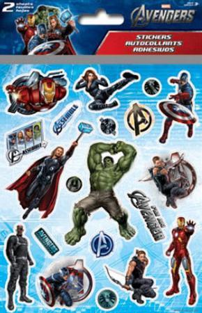 Avengers Foldover Stickers