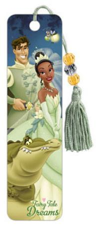 The Princess and the Frog Movie Group Beaded Bookmark