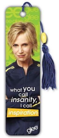 Glee Sue Jane Lynch TV Beaded Bookmark