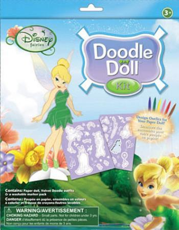 Disney Fairies Tinker Bell Doodle Doll Kit