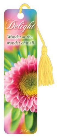 Delight Flower Beaded Bookmark