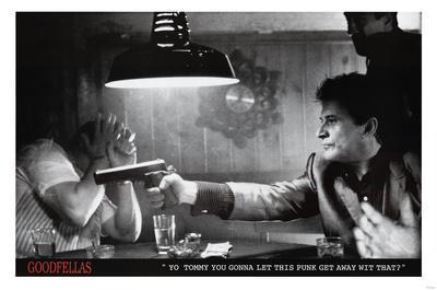 Goodfellas Movie (Pointing Guns) Poster Print