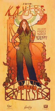 Serenity Movie Firefly Les Femmes Kaylee Frye Tour