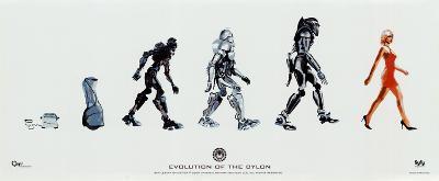 Battlestar Galactica - Evolution of the Cylon