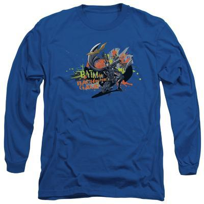 Long Sleeve: The Dark Knight Rises - Back in the Game
