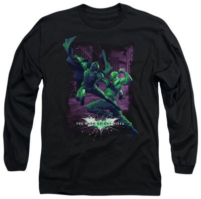 Long Sleeve: The Dark Knight Rises - Bat vs Bane