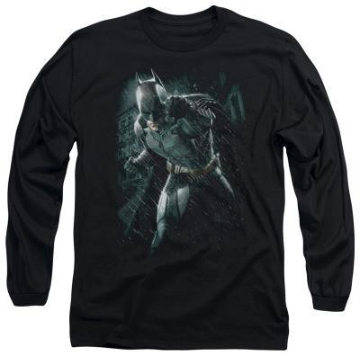Long Sleeve: The Dark Knight Rises - Batman Rain