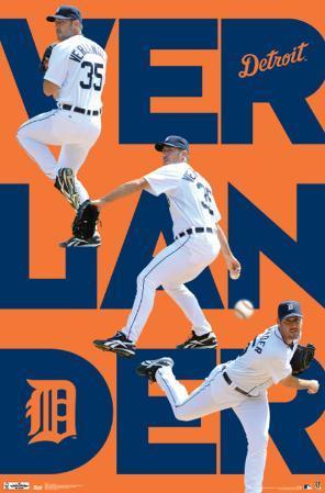 Detroit Tigers Justin Verlander 2012