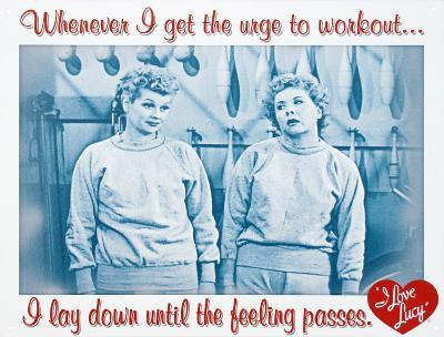 I Love Lucy Workout TV