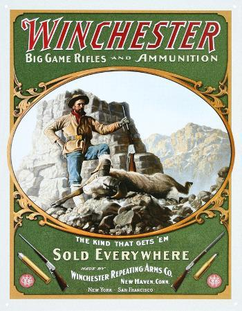 Winchester Big Game Rifles and Ammunition Hunter with Ram