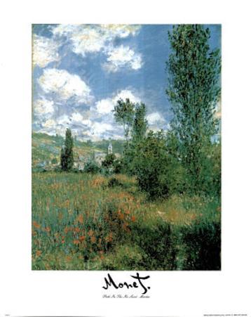 Path in the Ile St Martin Claude Monet