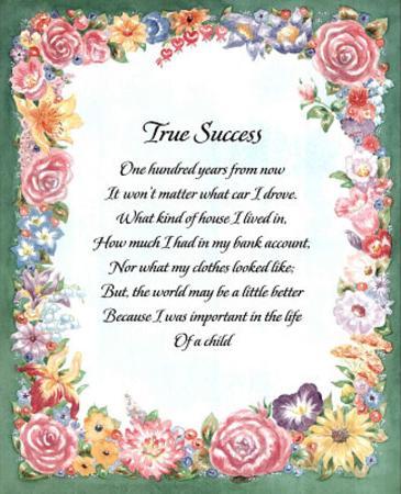 Motivational Home Poem GOD Children
