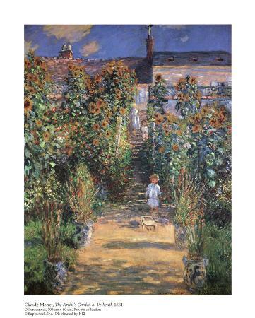 The Artist's Garden at Vetheuil