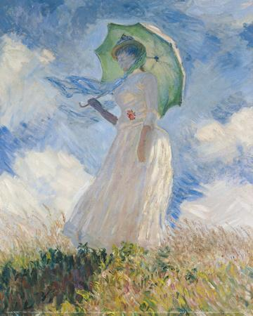 A Woman with a Sunshade