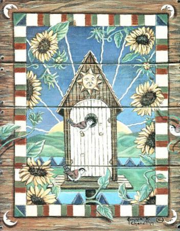 Chardonn (Sunflower Birdhouse)