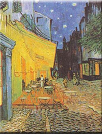 Pavement Cafe at Night