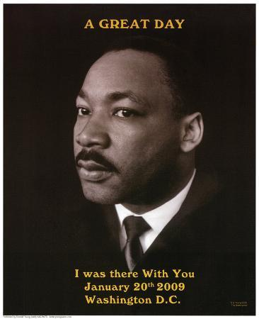 Martin Luther King Jr A Great Day President Barack Obama's Inauguration