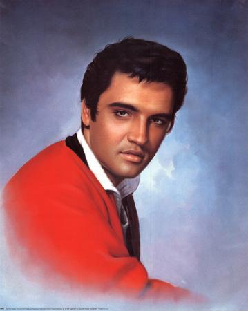 Elvis Presley Red Sweater