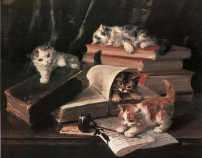 Playful Kittens (Books)