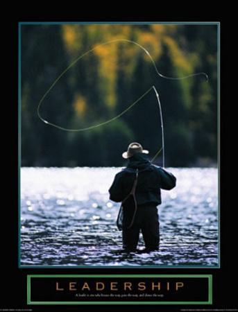 Leadership Fly Fisherman Motivational