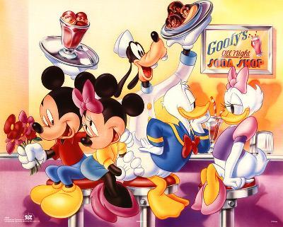 Mickey Mouse and Friends Goofy's Soda Shop
