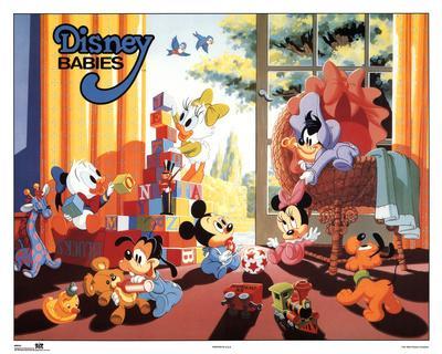 Disney Canvas Prints For Babies Room
