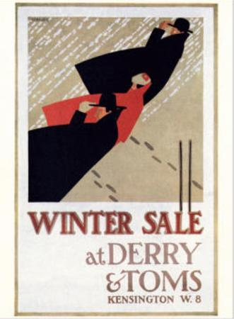 Winter Sale at Derry and Toms