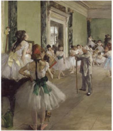 The Dance Class, c.1873-1876