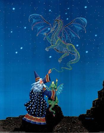 Wizard and Baby Dragon (Constrllation)