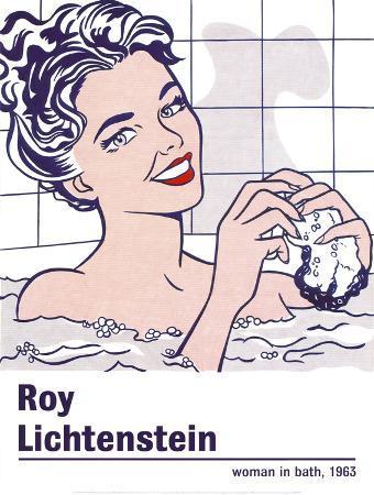 Woman in a Bath