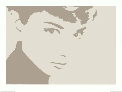 Audrey Hepburn Photo Negative Effect