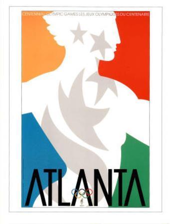 Atlanta, c.1996 Olympic Primary Olympian in Stars