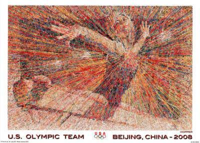 Gymnast U.S. Olympic Team Beijing 2008