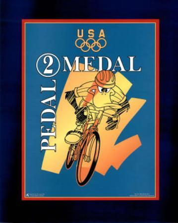 Looney Tunes Olympics Pedal 2 Medal Daffy Duck