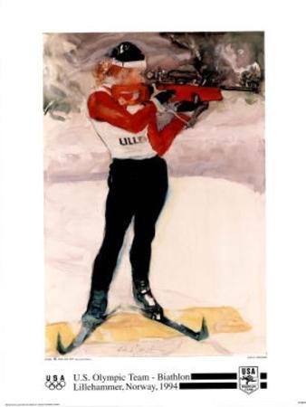 U.S. Olympic Team Biathlon Lillehammer, c.1994