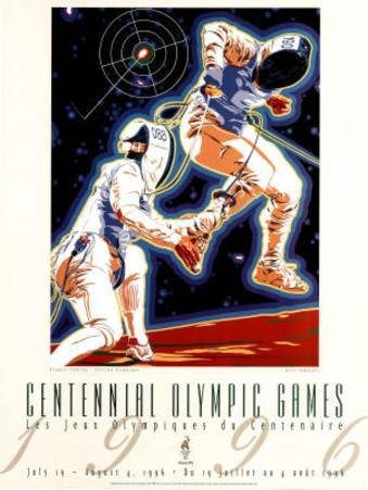 Olympic Fencing Atlanta, c.1996