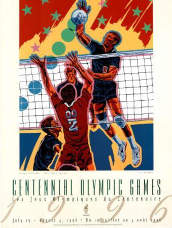 Olympic Volleyball, c.1996 Atlanta