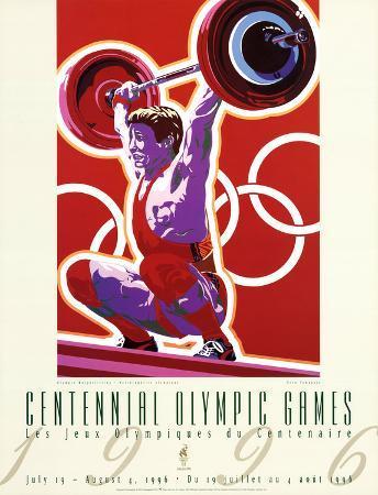Olympic Weightlifting, c.1996 Atlanta