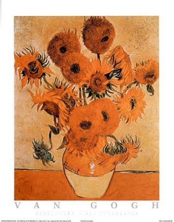 Sunflowers Les Tournesols